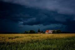 Prima della tempesta Fotografie Stock