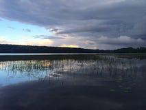 Prima della tempesta di pioggia fotografia stock libera da diritti