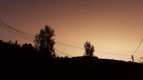 Prima di alba Fotografie Stock