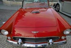 Prima generazione del convertibile di Ford Thunderbird fotografia stock libera da diritti