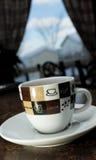 Prima mattina del caffè Immagine Stock