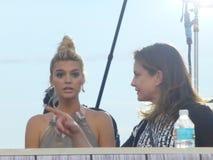 Prima Miami Beach di film di Baywatch Immagini Stock Libere da Diritti