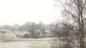 Prima neve video d archivio