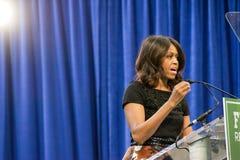 Prima signora Michelle Obama Immagine Stock