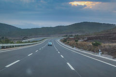 Prima strada principale etiopica aperta! Fotografia Stock Libera da Diritti