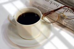 Prima tazza del giorno Fotografia Stock