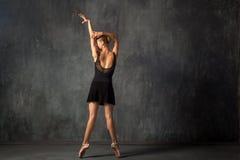 Prima theater dances royalty free stock photo