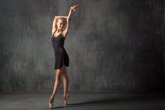 Prima theater dances stock photo