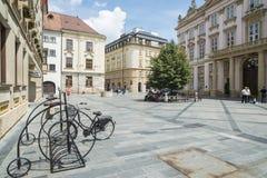 Primacialne namestie bratislava slovakia europe. View of primacialne namestie  in bratislava Stock Photography