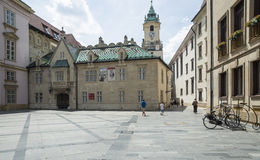 Primacialne namestie bratislava slovakia europe Stock Photography