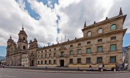 primada της Κολομβίας καθεδρικών ναών της Μπογκοτά Στοκ Εικόνες