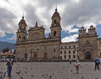 primada της Κολομβίας καθεδρικών ναών της Μπογκοτά Στοκ Φωτογραφίες