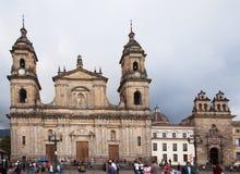 Primada Cathedral Bogota Stock Image