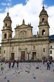 Primada Cathedral of Bogota Stock Image