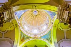 Primaire die Kathedraal van Bogota in Bolívar wordt gevestigd Stock Foto's