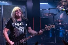 Primal Fear at Legend Club MI 03-10-2018. Milan, Italy - October 3, 2018: German power metal band PRIMAL FEAR performs at Legend Club. Brambilla Simone Live News stock photo