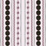 Primal seamless pattern. Stock Image