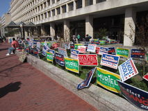 Primaries 2012-Washington D.C. Stock Image