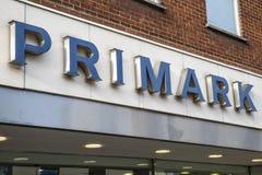Primark店面在诺威治 库存照片