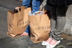 Primark shopping bags Stock Images