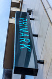 Primark sign board outside the department store Royalty Free Stock Photos