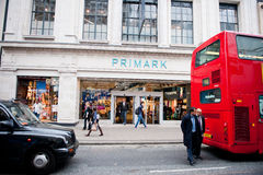 Primark store in London, UK Royalty Free Stock Photography