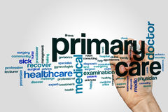 Primary care word cloud. Concept Royalty Free Stock Image