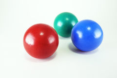 Primary color balls Royalty Free Stock Photo