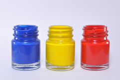 Primary colors Royalty Free Stock Photos