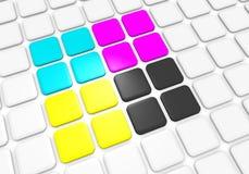 Primary colors Stock Photo