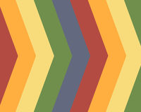 Primary colors striped background. Primary colors striped arrows background Royalty Free Stock Images