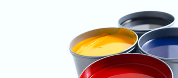 Primary colours Stock Photography