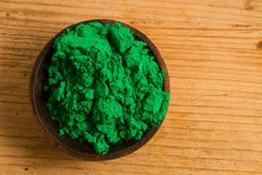 Primary colours: Green Royalty Free Stock Image