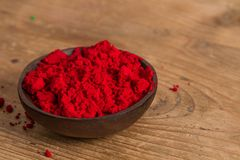 Primary colours: Red Royalty Free Stock Photo