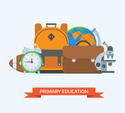Primary Education Background Royalty Free Stock Photos