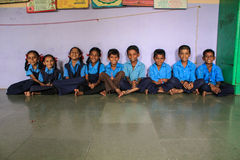 Primary education India Stock Image