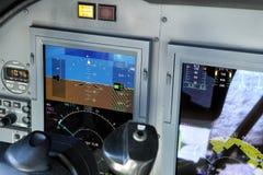 Primary flight display Stock Image