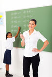 Primary maths teacher Stock Photos
