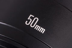 Primary 50mm Photo Camera Lens Stock Photos