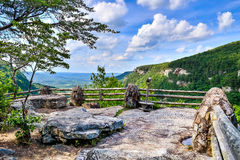 Primary overlook at Cloudland Canyon State Park Royalty Free Stock Photo