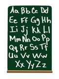 Primary school alphabet Stock Image