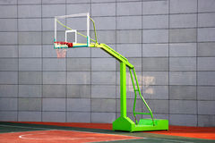 Primary school basketball court Royalty Free Stock Images
