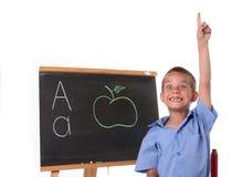 Primary school boy Stock Image