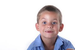 Primary school boy Royalty Free Stock Photography