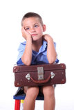 Primary school boy Stock Photography