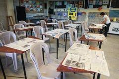 Primary school for poor in Ecuador. Stock Photos