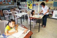 Primary school for poor in Ecuador. Stock Photo