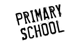 Primary School rubber stamp Royalty Free Stock Photos
