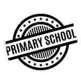 Primary School rubber stamp Stock Photo
