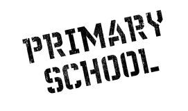 Primary School rubber stamp Royalty Free Stock Photo
